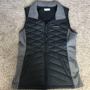 NWOT Columbia Omni-shield black and grey vest M